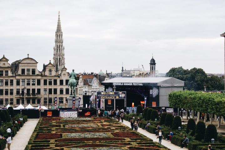Ma journée au Brussels SummerFestival.