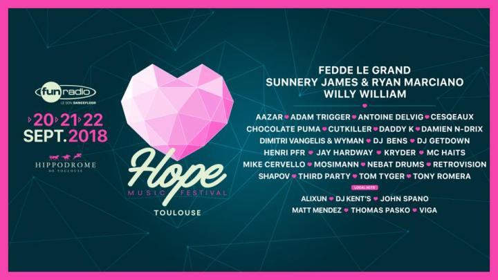 Hope Music Festival : Le nouveau festival solidaire àToulouse.