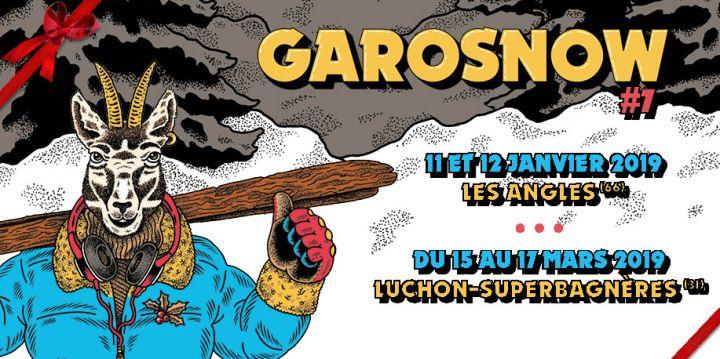 Arrêtez tout : Garosnow débarque à Luchon et c'est dulourd.