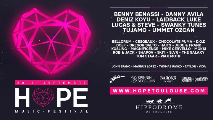 Tout savoir sur la seconde édition du Hope Festival àToulouse