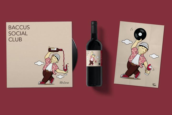 Du vin et des vinyles : le nouveau concept de Baccus SocialClub