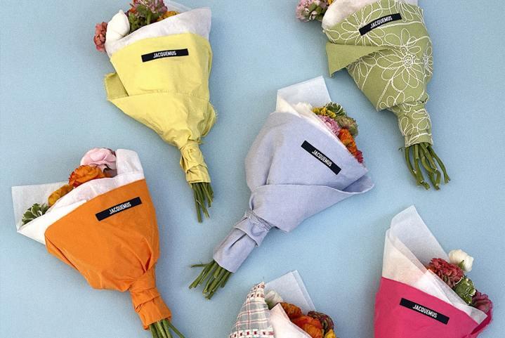 Jacquemus ouvre sa boutique de fleurs àParis